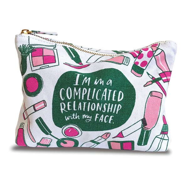 I'm In A Complicated Relationship Face Pouch