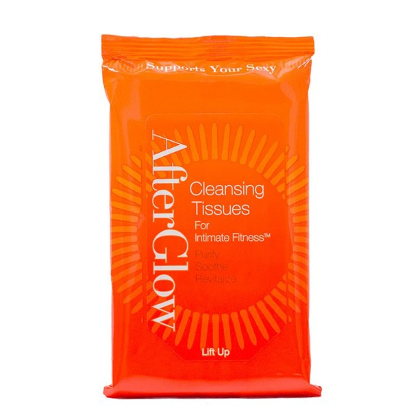 Afterglow Cleansing Tissues Multipak of 20