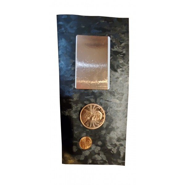 Copper Card & Coin 2-Pack Dry Sanitizer