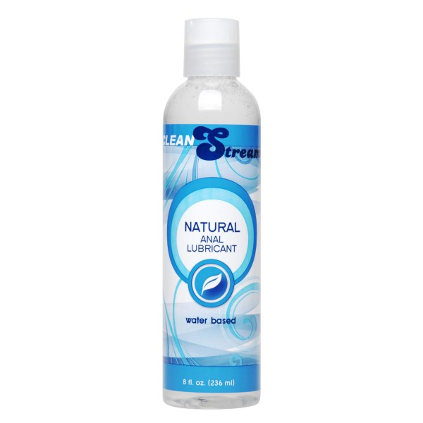 CleanStream Water-Based Anal Lube 8 oz