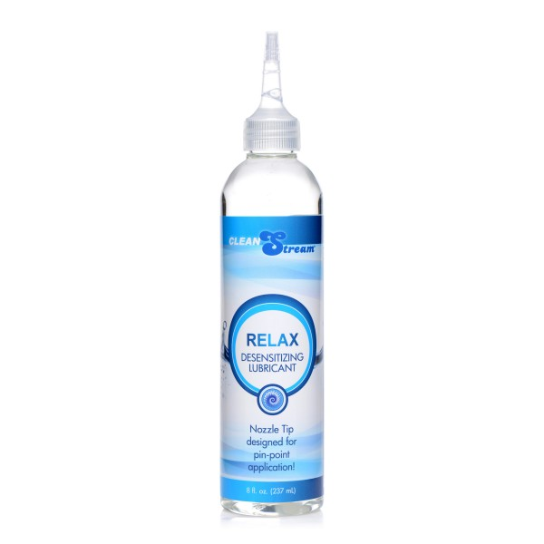 Relax Desensitizing Lubricant With Nozzle Tip - 8 oz.