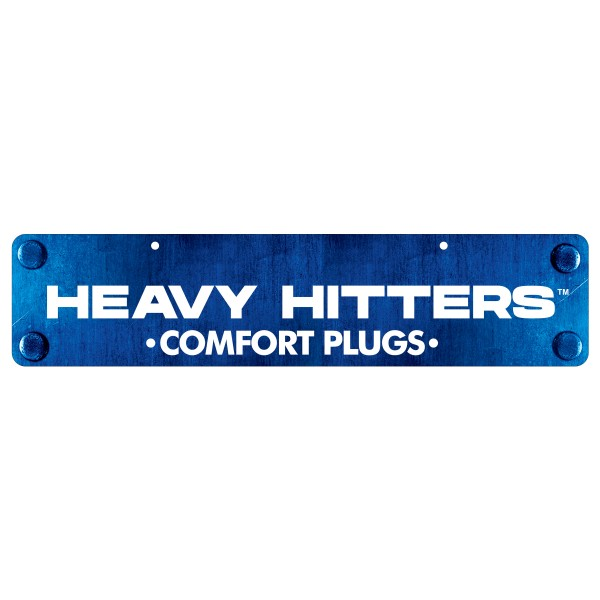 Heavy Hitters Display Sign